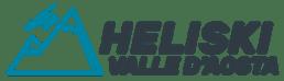 Logo Heliski Valle d'Aosta - www.heli-ski.it