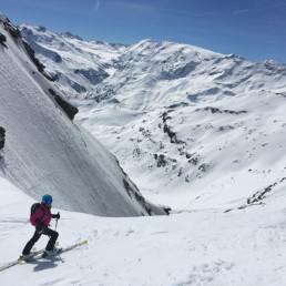 Heliski Valgrisenche discesa fuoripista - www.heli-ski.it