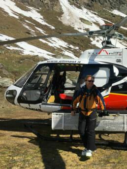 Carlo Mazzola, Heliski Valle d'Aosta - www.heli-ski.it